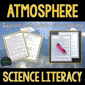 Atmosphere - Science Literacy Article