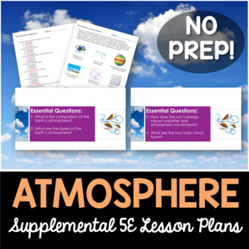 Atmosphere - Supplemental Lesson - No Lab
