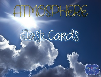 Atmosphere Task Cards {Scoot}