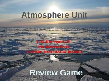 Atmosphere Unit Game