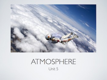 Atmosphere Unit (PowerPoint)