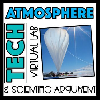 Atmosphere Virtual Lab:  How Altitude affect Air Pressure and Temperature