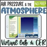 Air Pressure in the Atmosphere Virtual Lab Sheet