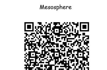 Atmosphere Vocabulary QR code Hunt