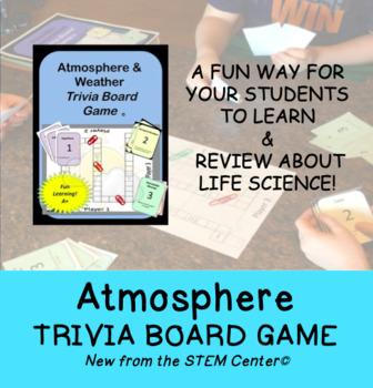 Atmosphere & Weather Trivia Board Game: Making Learning Fun!