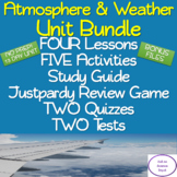 Atmosphere & Weather Unit Bundle: NO PREP! 13 DAYS!