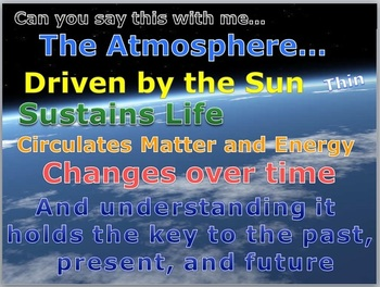 Atmosphere Lesson