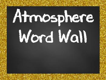 Atmosphere Word Wall