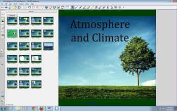 Atmosphere and Climate- Global Wind Patterns SMARTNotebook