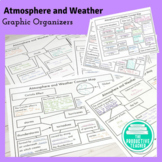 Atmosphere and Weather Graphic Organizers