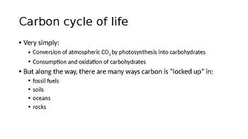 Atmospheric CO2 - presentation