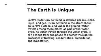 Atmospheric Water  - PPT