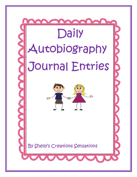 Journal Entries Autobiography