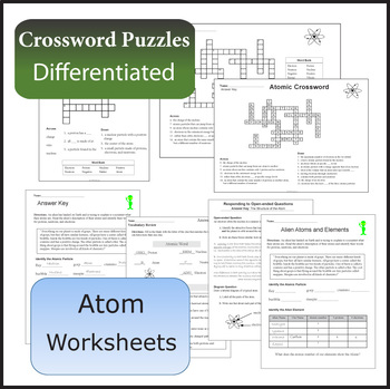 The Atom and Atom Structure, Lesson Plans, Worksheets, + More