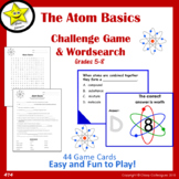 Atom Basics Challenge Game and Wordsearch