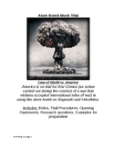 Mock Trial on the Atom Bomb