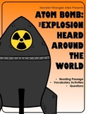 Atom Bomb: The Explosion Heard Around the World