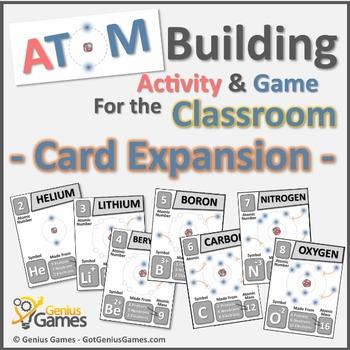 Atom Building Activity & Game - Atom Cards