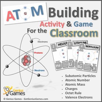 Atom Building Activity & Game - Basic Chemistry