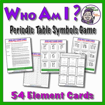 Atom ID Puzzler - Symbols and Elements