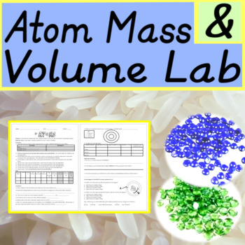 Atom Mass & Volume Lab (editable)