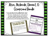 Atom, Molecule, Element, Compound Sort BUNDLE!