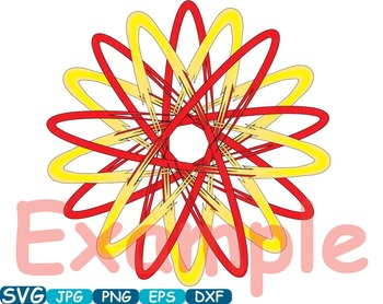 Atom Nuclear Fission Reactor Science Molecules SVG Clip art school chemist -354S