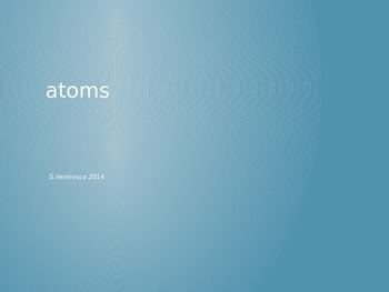 Atom Opener 2: Atomic Vocab Basics