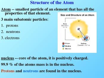 Atom Power Point Presentation