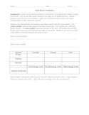 Atom Review Worksheet