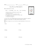 Humorous Atom Structure/Bonding Test with Answer Key