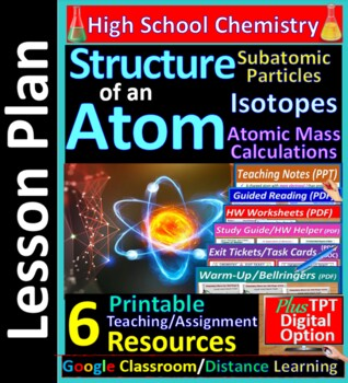 Atom & Subatomic Particles (Electrons, Atomic Number) - Guided HS Chem Notes