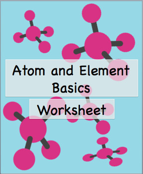 Atom and Element Basics