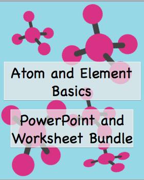 Atom and Element Basics Bundle
