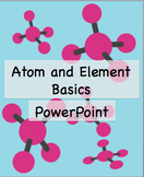 Atom and Element Basics Powerpoint