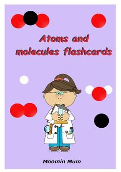 Atom and molecules flashcard