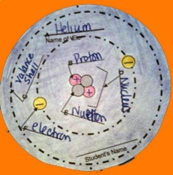 Atomic 3D Model (Large Size) - Full 18 Atom Series (Class set)