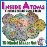 Atomic Structure: Inside Atoms Model - 18 Elements Set (8 inch model size)