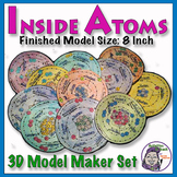 Atomic 3D Model (Large Size) - Full 18 Atom Series (Class set)