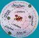 Atomic 3D Model Trio - Boron, Beryllium, & Lithium