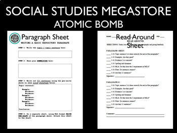 Atomic Bomb Assignment