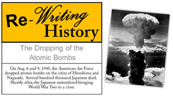 "Atomic Bomb Alternatives: A ""Re-writing History"" Investigation"