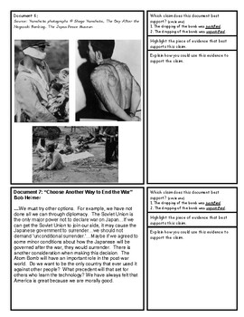Atomic Bomb WWII: Was it Justified? Documents and Debate Project
