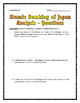 Atomic Bombing of Japan - Source Analysis Questions / Assignment with Key (WWII)