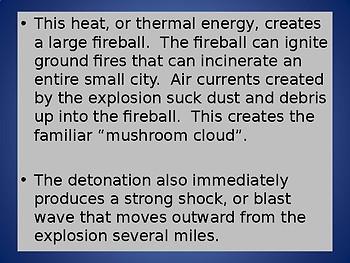 Atomic Bombs Powerpoint