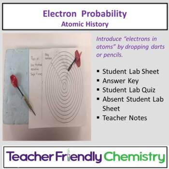 Chemistry Activity: History of Atom and Electron Dart Probability