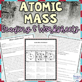 Atomic Mass Nonfiction Article and Practice Activity