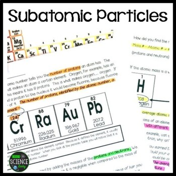 Subatomic Particles, Ions, and Isotopes