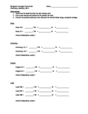 Atomic Mass Weighted Averages Card Activity