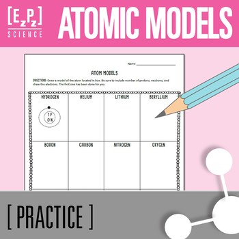 Atomic Model Practice